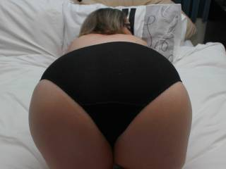My bbw ass in panties