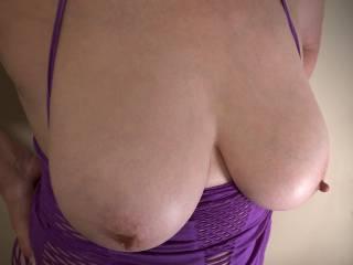 Nipples hard as usual
