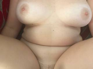 About to get a good fucking  love her curvy body, who else would like to fuck her??