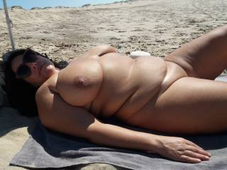 I like being naked outdoors