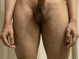 Shaved my big cock. ;)