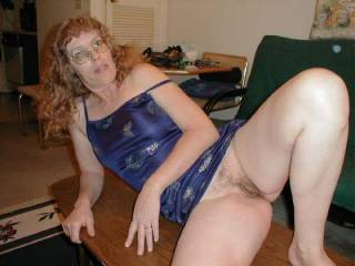 Thast a beautiful pussy, Id sure love to lick it till you cum over and over,,