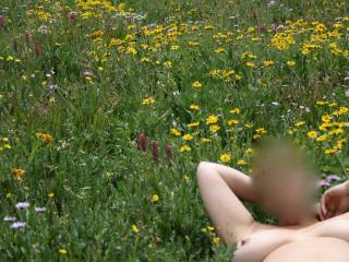 Would love to find you out in a meadow naked...