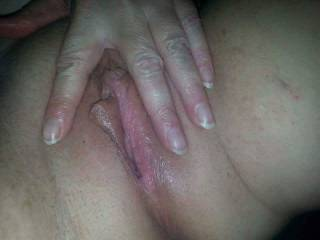 Milf playing with her pussy for me