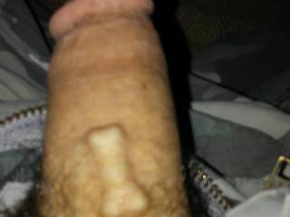My dick.. I have a pearl.. Just hanging soft