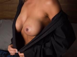 Wife in naughty dress