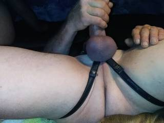 Stroking my cock in anticipation as she straddles over me her hands pulling her asscheeks apart as she prepares to sit on my face