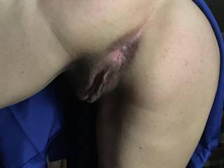 She wanted to show me her hot ass and hungry pussy. Sweet huh??