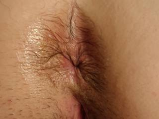 Wife wet ass before fucking