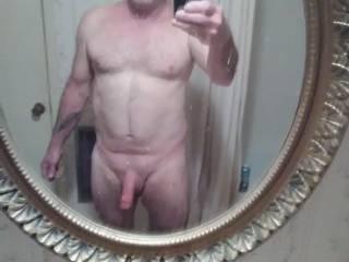 Me after shower