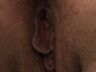 Kiki's fat little pussy with a buttplug stuffed in her asshole. Any ladies want to fuck Kiki like this with a HUGE strap on? Let me know if you're interested. Women only please