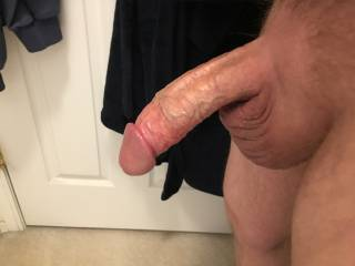 Freshly shaved and ready to fuck, suck pussy and cum