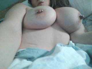 I want perfect tanned porn star tits..