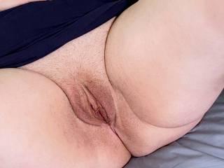 Hairy pussy shot