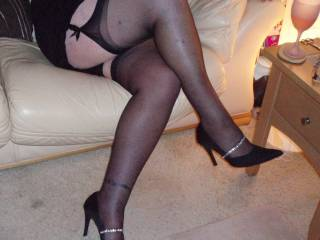 Fabulous legs, love to open them and slip my tongue deep into your pussy and give your clit a good licking.
