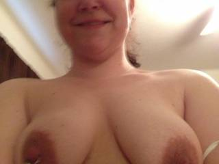 ilove pierced nipples.yours are gorgeous.
