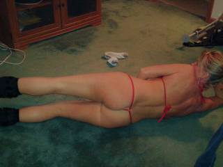 wife exercising... what do you think