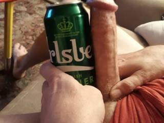Here\'s a pic of my hubby\'s impressive cock ...any ladies want to lend a hand or mouth?