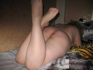 Love the bare legs and ass cheeks.  More of all you girls like this....please!