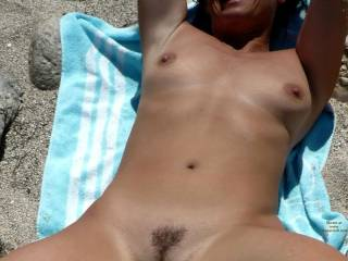 You just made every single sperm in my ball sack go on holiday... ;-)  Hope you post more hot & sexy pics!