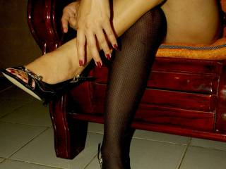 i think i have to say i love you in the stockings but dont get me wrong i would worship those feet in any thing