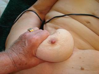 I can just imagine the milk squirting out of those hard little nipple as she s being fucked hard. Nothing better to get the milk flowing than a good hard fucking.