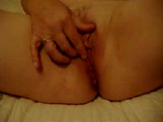 Great pussy, loved watching her roll that clit between her fingers, very nice!