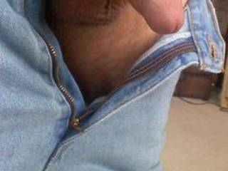 Just the way I like to suck it, just open up your jeans and plop that cock into my mouth