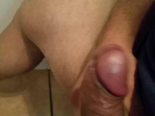 Exciting to watch that beautiful big thick cock shooting off such a marvelous  load!