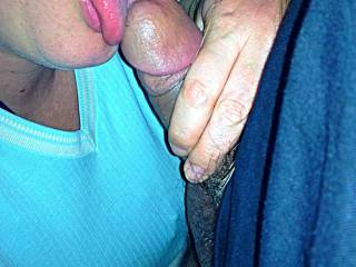 Licking His Dick.  Can I Lick Yours Next?