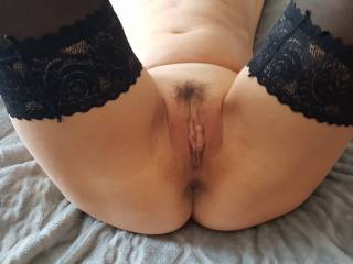 Gaping pussy hole