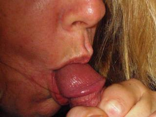 you look so natural and wonderful doing that.  I want to grab you a nd kiss you very passionately and alternately suck that nice cock with you sharing the cum that will follow.  Wonderful and tasty looking.