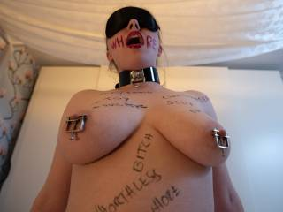 Fuck this whore loves riding cock.