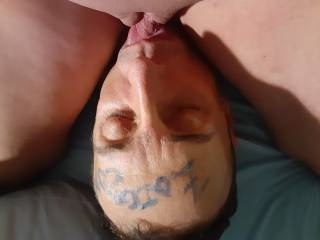 Licking my wife\'s pussy