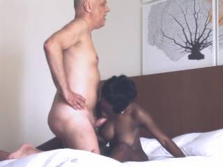 Enjoy some interracial African blowjob actions