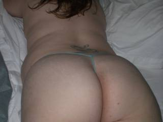 Round ass ready for some cock