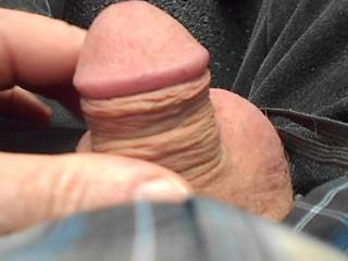 Playing with my cock in a public park as a women walks past. Actually she was much closer than the lens suggests!! What would you do if you caught me doing this?