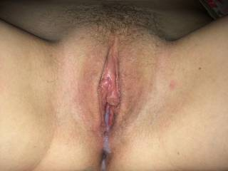 I would love to splash another load all over that sweet pussy!