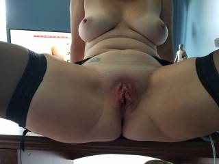 Sexy wifes pussy well fucked!!
