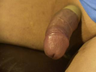 Using a cock ring here
