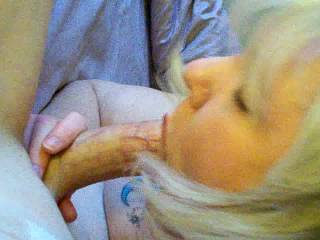 Great video, she is a wonderful woman.  I would love to have her suck my cock.