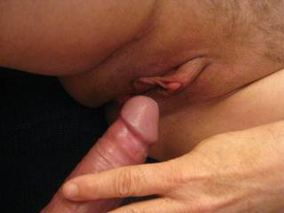 Very nice lady I met with a large clit!