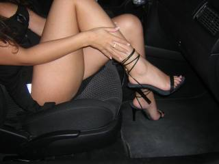 my boyfriend at the time loved my legs