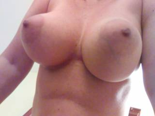 My big tits , do you want to suck them ?