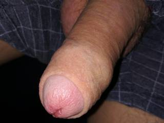 Just love showing my cock, hard or soft, anyone want it while it's soft
