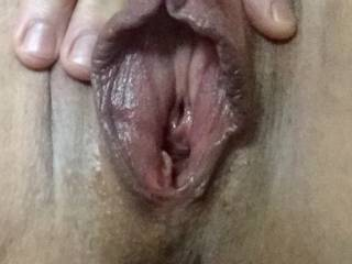 Juicy, wet fathotlips after a morning pumping and edging session 🔥😻😈 my horny cunt needs a good fuck and my big clit needs to be sucked off!  Who's up for the challenge?  How would you take care of me?