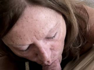 I really enjoy sucking cock and swallowing 