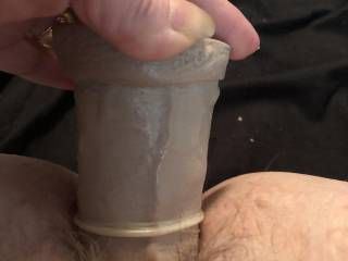 Wanna suck on my clit while I fuck my pussy?