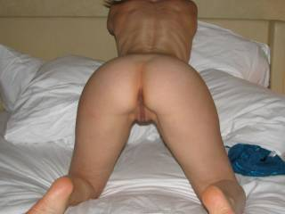 I could come up from behind and slide this hard thick BBC right deep inside that juicy wet pussy....