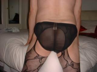 I've had my sisters silk panties on before & felt great on my cock